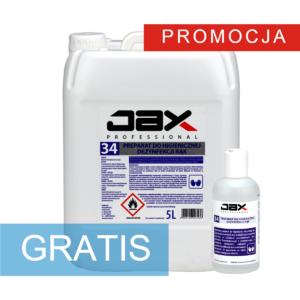 Promocja: Płyn JAX 34 5l + 200ml GRATIS