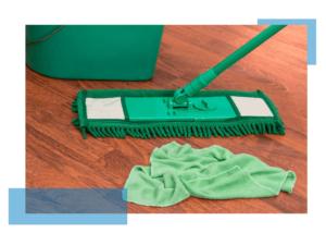 skuteczne mycie podłogi